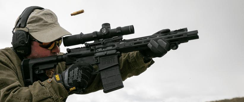ar10 pistol with sba3 brace