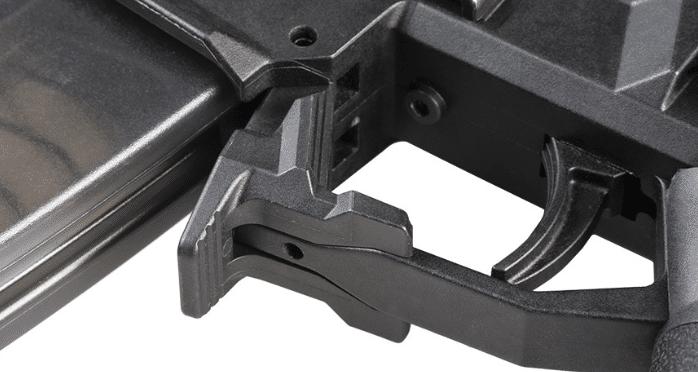 strike industries CZ Scorpion mag release
