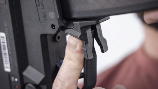strike industries CZ scorpion EVO mag release
