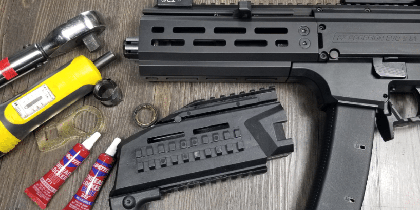 CZ EVO 3 aluminum handguard replacement