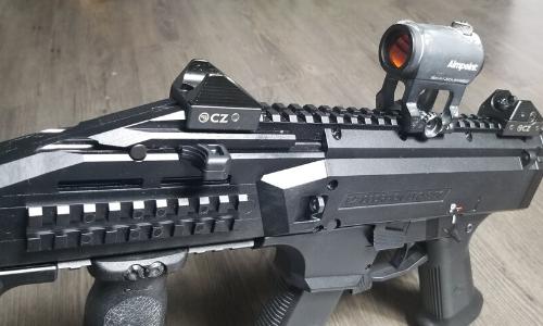 CZ Scorpion EVO 3 with Aimpoint Micro