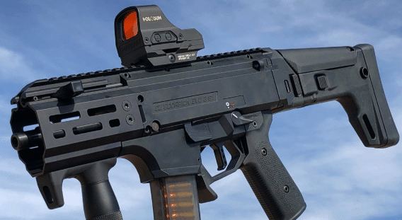 CZ scorpion EVO 3 micro with holosun 510c