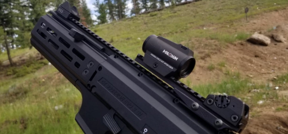 Holosun 503GU on YHM rail CZ EVO 3