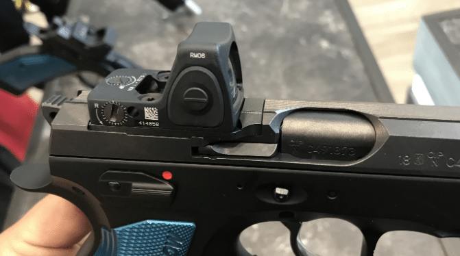 Trijicon rmr on cz shadow 2