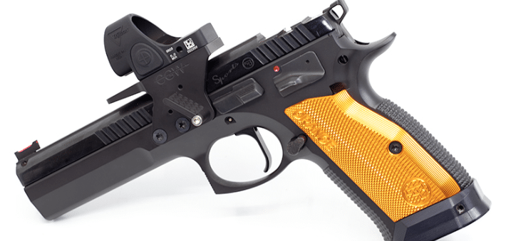 cz tactical sport orange optic mount frame