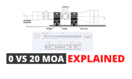 0 VS 20 MOA Explained – For Precision Shooting