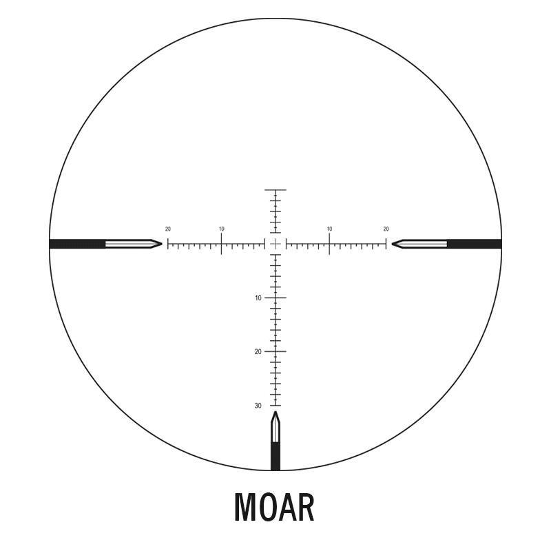 MOAR illuminated reticle C434