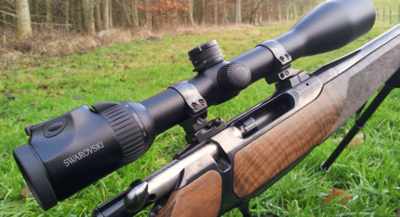 Swarovski-Z6i-2.5-15x56 on a rifle