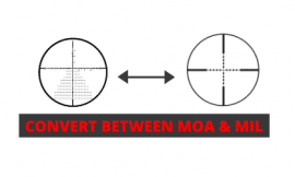 How To Convert Between MOA and Mil