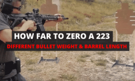 How Far Should You Sight In A 223 [16″ Barrel & SBR]