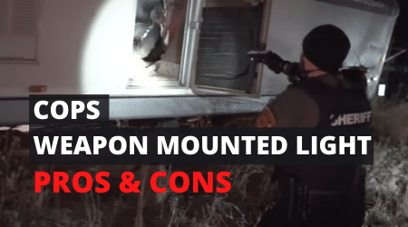 Pros and Cons: Weapon-Mounted Lights For Law Enforcement Applications