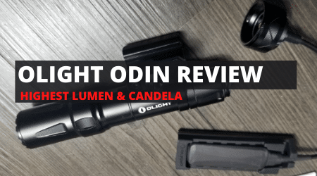 Review: OLIGHT Odin Weapon Light [NEW 2020]
