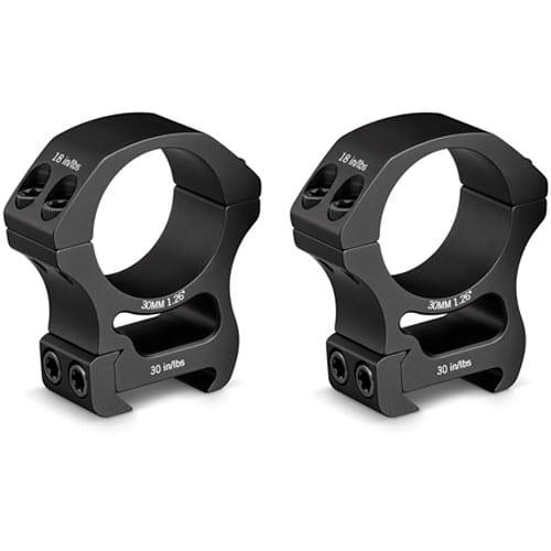 vortex optics pro series scope rings