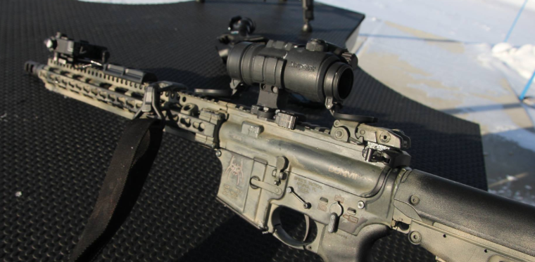 Daniel Defense DDm4V11 uper with Aimpoint Patrol