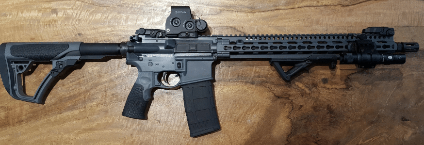 Eotech exps3 on DDm4v11 rifle
