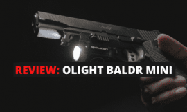 Review Guide: Olight BALDR Mini Pistol Light [Red & Green]