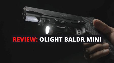 Review: Olight BALDR Mini Weapon Light