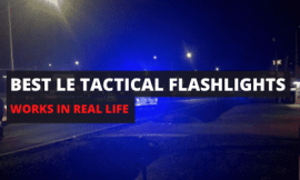 Best Handheld Flashlights for Police Work [Practical For Real Life]