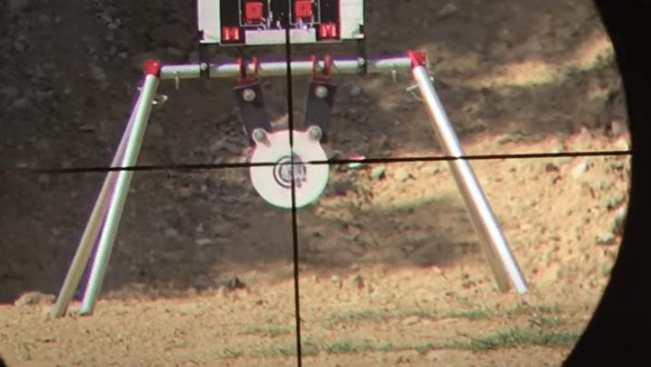 crosshair on target