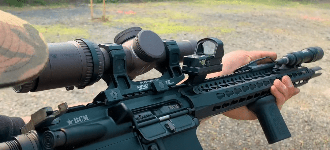 trex arms offset leupold deltapoint pro mount