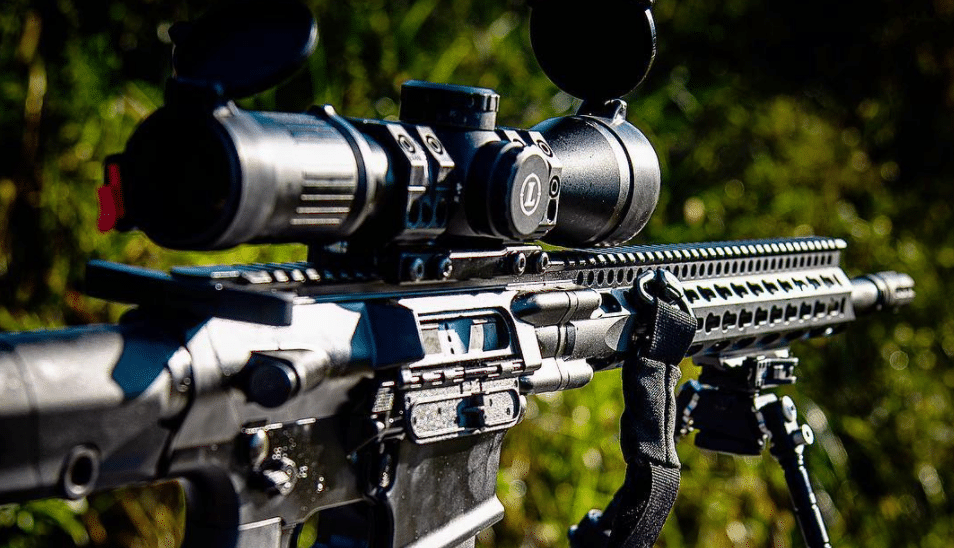 DD5 with Leupold Mark 5 scope