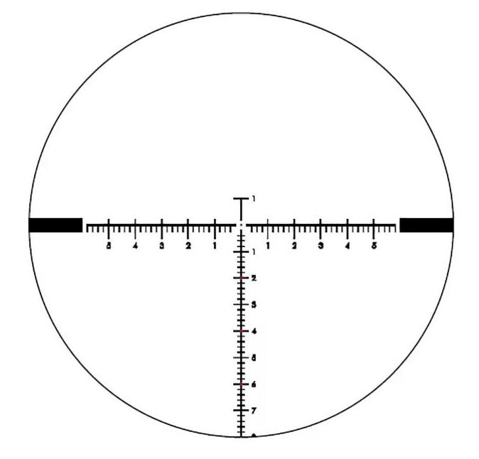 EOtech vudu 5-25X50 FFP MD3 reticle MRAD