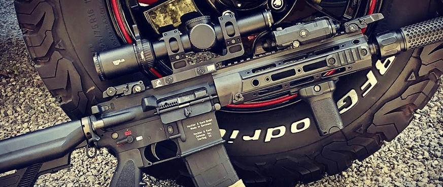 HK 416 with Vortex Viper PST gen 2 1-6x24