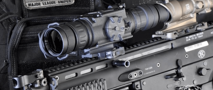 Night vision attachment rifles
