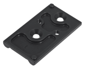Optic adapter plate for ruger 57