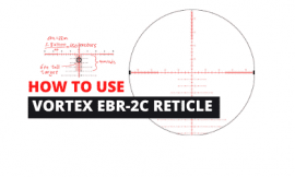 How To Use Vortex EBR-2C MOA Reticle For Long Range Shooting
