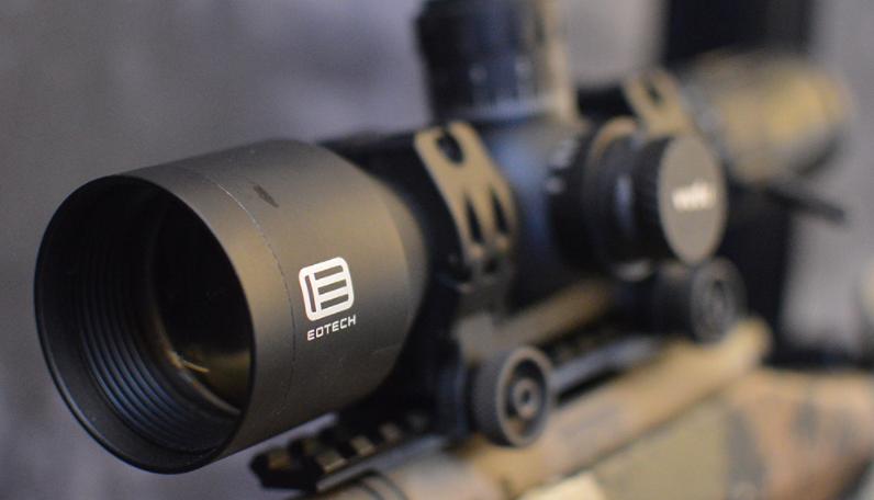objective lens front view eotech vudu 5-25x50 scope