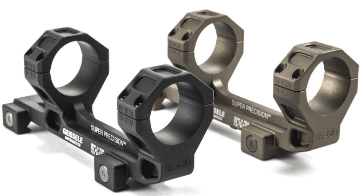super precision 34mm scope mount