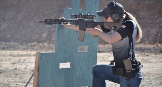 3 gun shooting practice