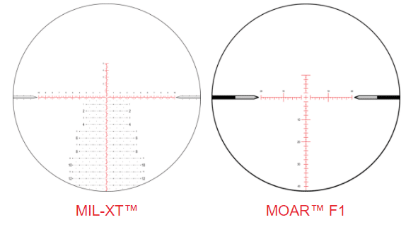 Nightforce ATACR 4-16X RETICLE OPTION 2