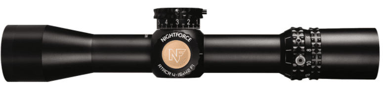 Nightforce ATACR 4-16x42 side view