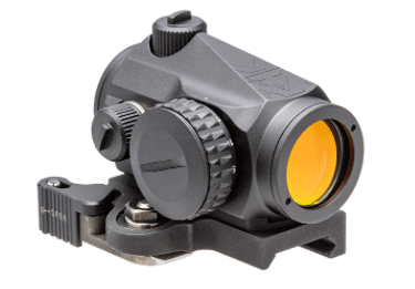 Vortex Crossfire II red dot sight with larue Tactical QD lever mount