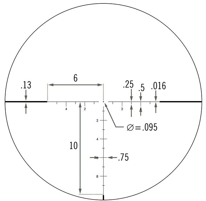 Vortex ECR 1 reticle