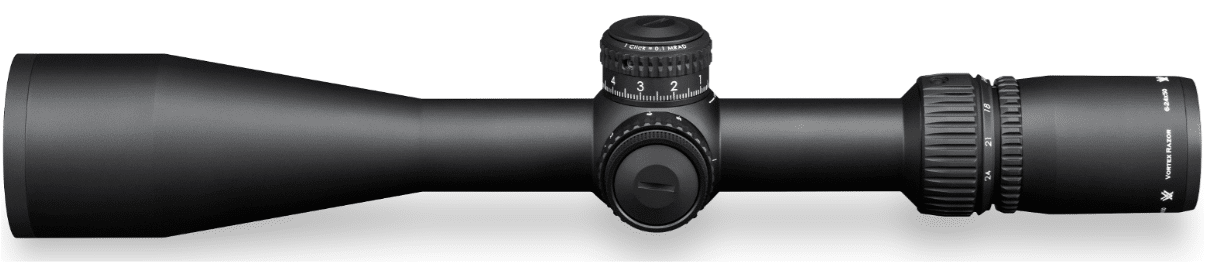 Vortex RAZOR HD AMG 6-24X50 side view