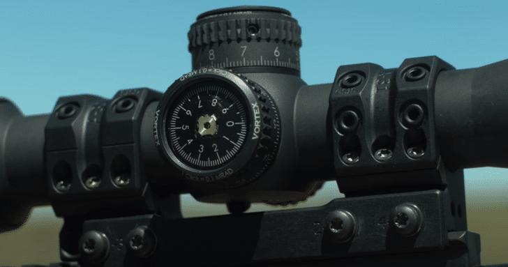 Vortex RAZOR HD AMG 6-24X50 turret system