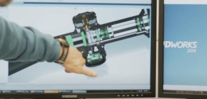 Vortex Razor HD amg solidworks