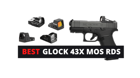 Best Red Dot Sights For GLOCK 43X MOS