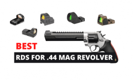 Best Red Dot Sights for 44 Magnum Revolver