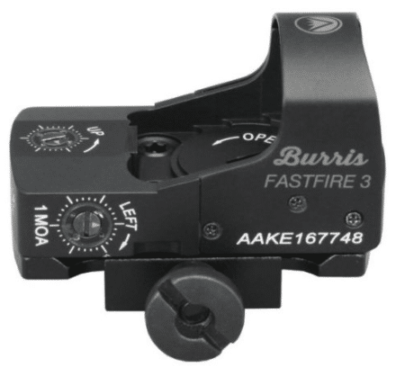 burris fastfire 3 reflex red dot sight