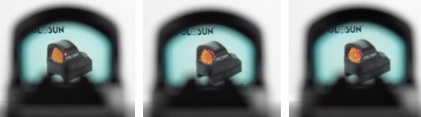 holosun 507c reticle options
