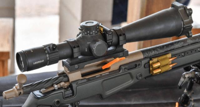 leupold mark5 hd 7-35x56 scope on bolt action rifle
