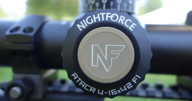 nightforce atacr 4-16x42 f1 illumination control button