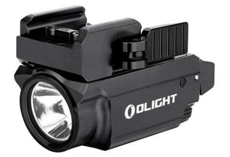 olight baldr mini weapon light with green laser