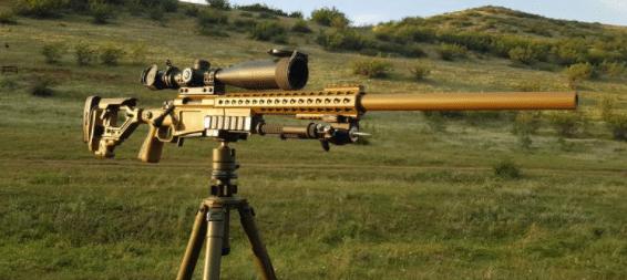 vortex razor amg 6-24x50 ffp scope on precision rifle