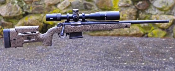 vortex viper pst gen II 3-15x44 FFP scope on bergara HMR rifle