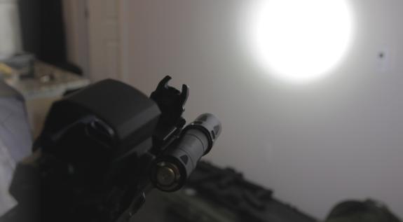Olight lumen intensity indoor